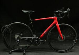 2018 Specialized Roubaix Comp Ultegra 56cm Flo Red/Tarmac Black NEW Display