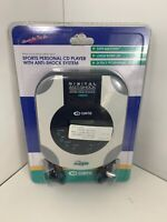 Vintage Curtis Personal Cd Player Anti Shock System Sealed New Old Stock