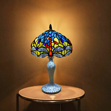 STUNNING TIFFANY STYLE TABLE LAMP BEAUTIFUL HANDCRAFTED HOME DECOR SHADE LAMPS