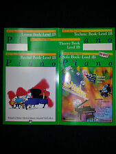 ALFRED'S BASIC PIANO LIBRARY BOOKS 1B SET OF 5