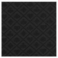 More details for poker table cloth suited black speed cloth for professional tables 150cm x 100cm