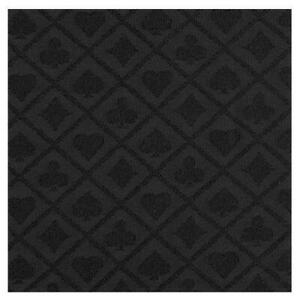 Poker Table Cloth Suited Black Speed Cloth For Professional Tables 150cm x 100cm