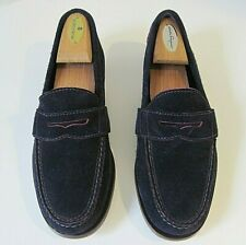 COLE HAAN AIR MONROE Twilight Suede Penny Loafers Slip On Shoes Mens Size 7 M