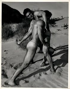 Gay Interest - Vintage - Male Physique Photos - BRUCE OF LOS ANGELES - 8 x 10 ""