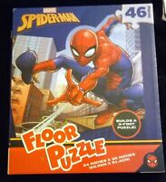 RARE Marvel Spiderman Giant 3 foot floor jigsaw puzzle 46 piece NEW/SEALED MINT