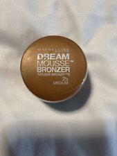 Maybelline New York Dream Mousse Bronzer  #25 Medium Factory Sealed
