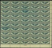 C24, Mint VF Sheet of 50 30¢ Airmail Stamps Brookman $675.00 - Stuart Katz