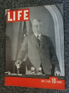 Vintage LIFE Magazine - May 2nd 1938. Very Good Condition