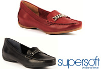 Supersoft Shoes by Diana Ferrari hidden wedge slip on Shoes leather - Poncho