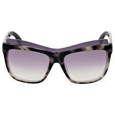Gucci White Havana Cat Eye Sunglasses