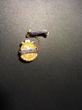 Toastmasters International Toastmistress 10k Gold With Seed Pearls Pin