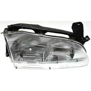 Headlight For 93 94 95 96 97 Geo Prizm Right Clear Lens With Bulb