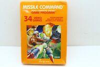 Vintage Atari 2600 MISSILE COMMAND Game NEW SEALED