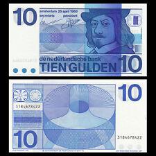 Netherlands 10 Gulden, 1968, P-91, UNC