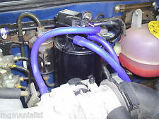 MGZR MG ZR Silicon Pipe Upgrade Kit Charcoal Cannister Blue or Red mgmanialtd