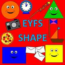SHAPE resource CD for the Early Years -  EYFS, SEN, Reception, Maths, shapes