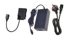 UK AC Adapter + EP-5A DC Coupler for Nikon D3100 D3200 D5100 D5200 P7100 P7700