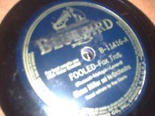 78RPM Bluebird 11416 Glenn Miller, Fooled E- to E / It Happened in Hawaii V+
