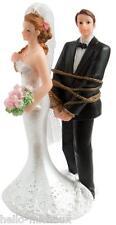 figurine de marié humour  en résine pour gâteaux de mariage ou décoration table