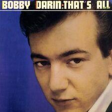 Bobby Darin, That's All. (Mack The Knife)  180 Gram Vinyl LP (MONO) New & Sealed