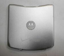 Genuine Oem Motorola Razr V3m Silver Battery Door Back Verizon Shn9672A Shn9626A