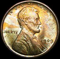 1909 VDB Lincoln Cent Wheat Penny ---- GEM BU+ ---- #B154