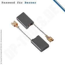 Balais de Charbon Charbons Du Moteur pour Perforateur Berner Bhd 11 6,3x16mm