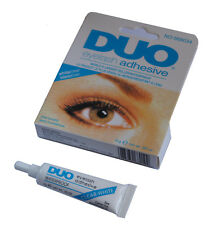 DUO Waterproof Eyelash Glue, False Eyelash Adhesive, White/Clear-Dries Invisibly