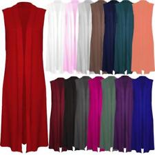 Unbranded Plus Size Sleeveless Jumpers & Cardigans for Women