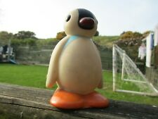 RARE! RETRO! VINTAGE! BBC PINGU - PINGA PENGUIN - Rubber Bath Action Figure Toy