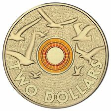 2015 ORANGE REMEMBRANCE $2 COIN FROM MINT BAG!!!!!  STUNNING COIN