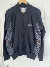 Adidas Originals Adicolor Rare Vintage Retro Deadstock Football Casual L Black