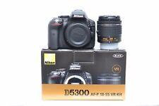 New Nikon D5300 Kit AF-P DX NIKKOR 18-55mm f/3.5-5.6G VR Lens - 3 Year Warranty