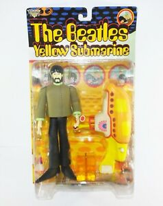 "McFarlane Toys The Beatles 7.5"" Action Figure - George & Yellow Submarine (BNIB)"