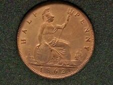 More details for ref(359) 1862 victoria half-penny about ef and near full lustre
