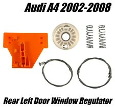 Window Regulator Repair Kit For AUDI A4  Rear Left Door 2002 - 2008