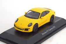 PORSCHE 911 991 CARRERA GTS 2014 YELLOW RACING SCHUCO 07572 1/43 GELB JAUNE