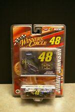 NEW 2008 JIMMIE JOHNSON #48 WINNER'S CIRCLE NASCAR 1:64 SCALE DIECAST CAR
