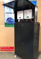 48v Nissan Leaf Lithium ion Mega Power Pack Battery 28 kwh 528 ah Storage G2