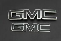 2015-2019 GMC Canyon Matte Black  grille & tailgate red letter replacement