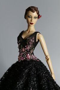 Gown Outfit Dress for Gene Doll Tyler Super doll Deva FR Kingdom doll RED CAPET