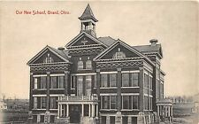 B66/ Girard Ohio Postcard c1910 Our New School Building