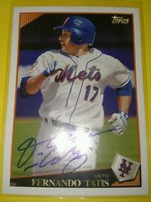 2016 Topps Archives 65th Anniversary Edition FERNANDO TATIS Autograph METS /99