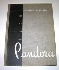 1955 University of Georgia Pandora Annual Yearbook Bulldogs College Year Book VG