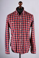 Barbour International Checked Long Sleeve Shirt Size M