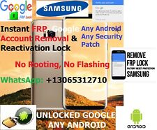 SAMSUNG PHONE/TAB ANY ANDROID FRP RESET GOOGLE REMOVAL S8 S9 S9+ S10 NOTE 8, 9