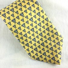 Vineyard Vines Custom Tie Allstate Sugar Bowl 2011 Yellow Silver Trophy Cups