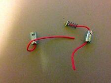 2 x Ba9s Side Light Parking Bulb 9mm Bayonet Adapter Holder Socket Plug springs
