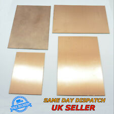 Single / Doble Side Copper Clad Foil Circuit Boards PCB Fiber Glass / Bakelite