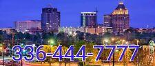 336 area Easy Phone Number 336-444-7777 Double Repeat Greensboro Nc Unique!